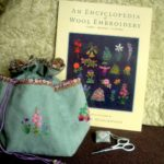 Guild Saturday Class Wool Embroidery bag