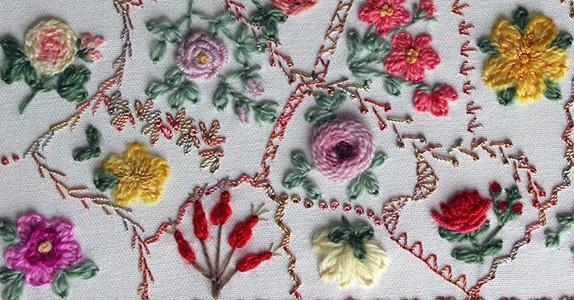 Embroidery garden singapore makaroka