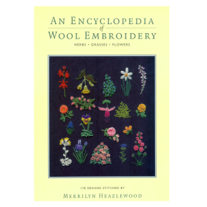 wool embroidery - covers