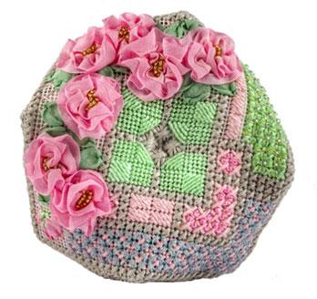Camellia Biscornu